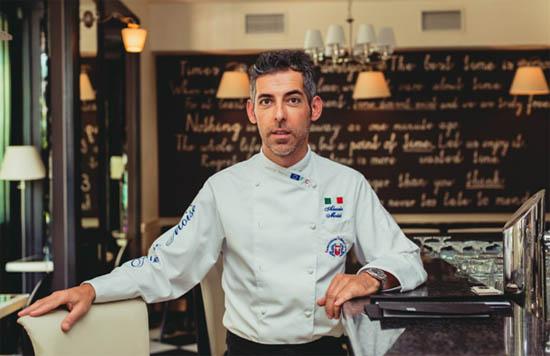 Алессио Моизе о новом меню ресторана Jules Verne сезона 2014 года